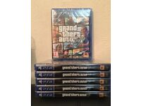 GTA 5 - GRAND THEFT AUTO V - BRAND NEW & SEALED FOR PS4