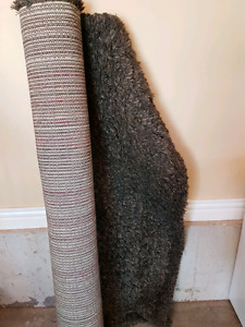 Brown area rug from Costco
