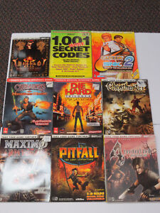 Video game guides for sale various consoles