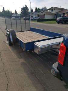 12 x 6 ft customized  trailer