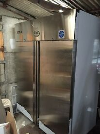 Freezer commercial double door