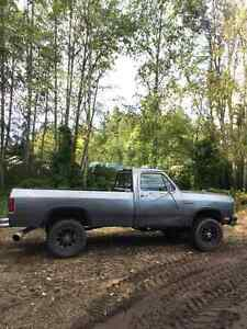 1991 Dodge Power Ram 2500 Cummins Diesel