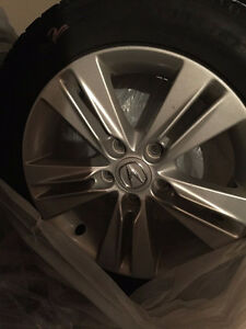 Original Acura Mags with Winters