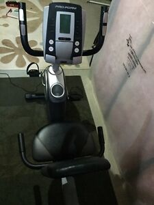 Exercise Bike,Elliptical Trainer and Tempo 632T Treadmill
