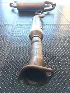 EXHAUST. OEM Catback exhaust from a BRZ for sale London Ontario image 7