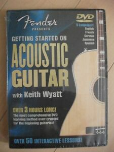 NEW learn to play Acoustic Guitar DVD