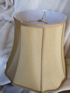 New Gold Lamp Shade ~Modified Fancy Octagon~