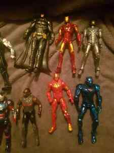 Marvel figures loose
