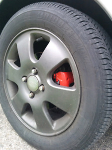 """4x108 16"""" Painted Ford Focus Wheels"""