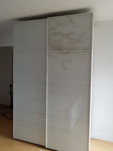 Armoire double blanche PAX IKEA