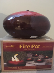 Fire Pot - Brand New in the box