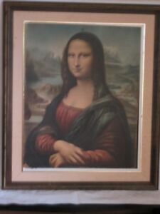 Mona Lisa Picture with frame