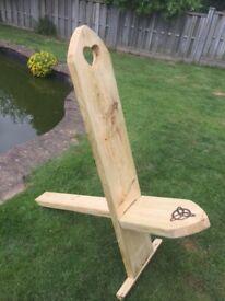 Handmade Stargazer chairs
