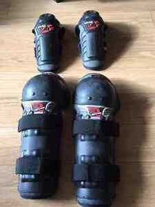 EVS elbow and knee pads