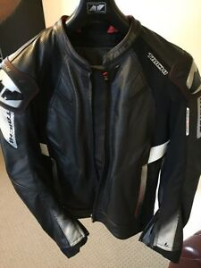 Motorcycle jacket. RS Taichi leather vented jacket