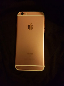 Rose Gold iPhone  16GB, Bell