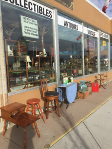 """CLOSE OUT """"CLEARANCE SALE"""" ANTIQUES /COLLECTIBLES /FIXTURES"""