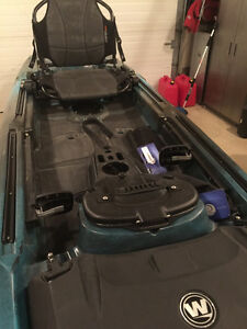 2016 Wilderness Sytems A.T.T.A.K 140 Fishing Kayak