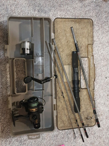 Darwa AG750A Spinning Reel and Collapsible Reel & Case