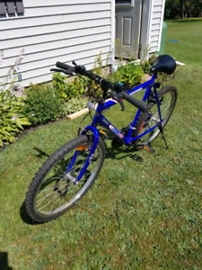 22 inch 18 speed bicycle