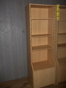 Ikea Bookcase with Bottom Cupboard Drawer Storage