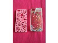iPhone 5/5s cases x2