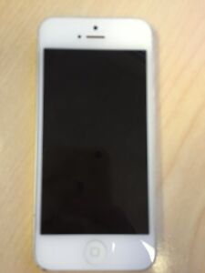 White iPhone 5 Telus in great shape! Strathcona County Edmonton Area image 1
