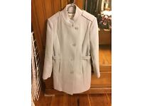 Reiss baby blue coat M