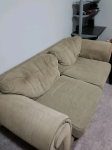 Beige Couch Set