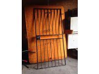 Security door gates