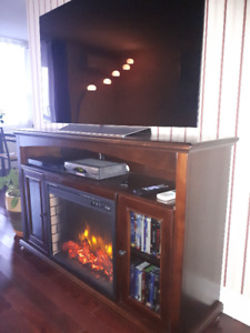 LED fireplace TV stand / brand new