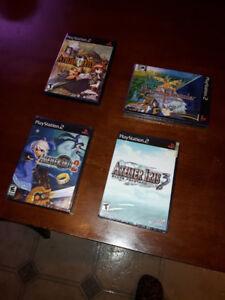 Atelier Iris 1, 2 et 3 plus Mana Khemia (PS2) (NM et Scellé)