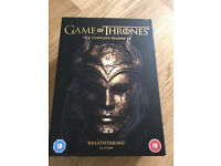 Game of thrones complete dvd boxset 1-5