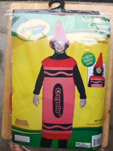 Red Crayon Costume