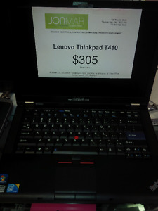 Lenovo Thinkpad T410 - i5 520M 2.4Ghz