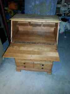 Antique  dresser with desk top