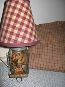 Table lamps - Country look