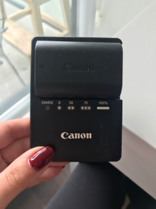 Canon Battery + Charger (LC-E6) 60D, 70D, 80D