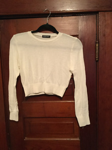 SALE! American Apparel cropped sweater (A186)