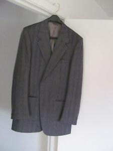 Grey Men's Wool Suit
