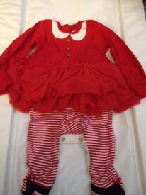 3-6 mths christmas outfit