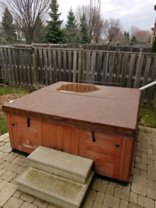 84 x 84 hot tub cover