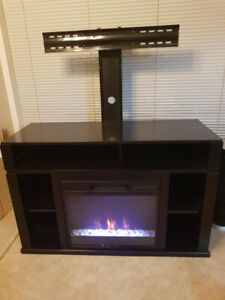 Entertainment unit/TV Stand & fireplace