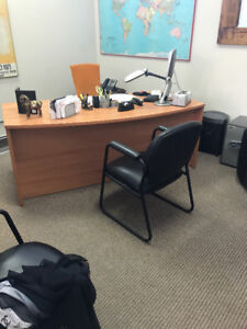 OFFICE FURNITURE LOT - Like New Condition $1,800 OBO