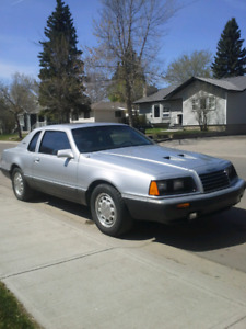 1984 Thunderbird Turbo Coupe price lowered
