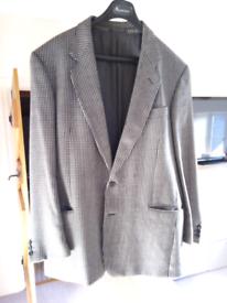 Jaeger Large gents wool check jacket