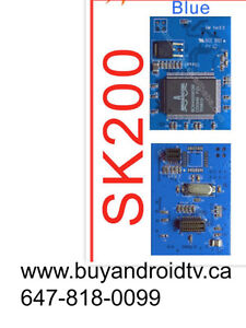 SK 200 HD Module with HEATSINK 8PSK Module Dreamlink HD,Mega tvi