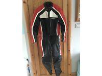 Hein Gericke men's/women's bike leathers - jacket and trousers - £60.