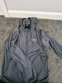 Armani lightweight grey jacket