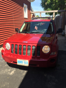 Red Jeep Patriot for Sale!